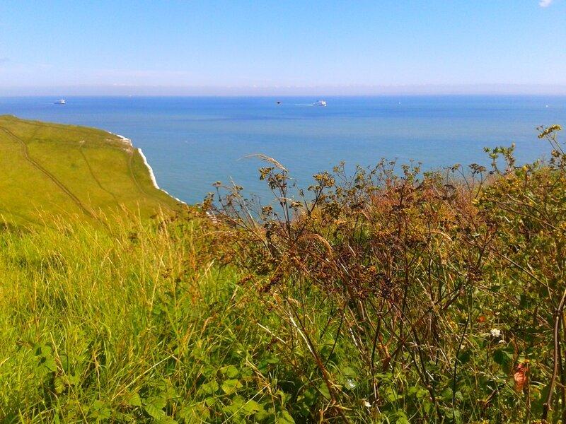 Au long des falaises de Douvres
