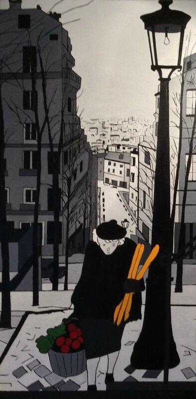 0euvre d'art Pierre Montillo