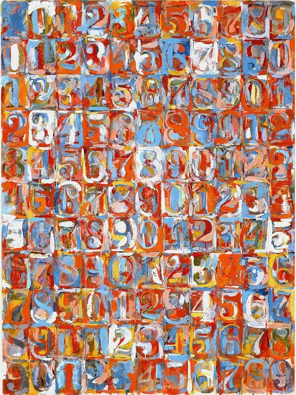 7jasper-johns-numbers-in-color