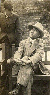 Gide et Marc Allegret en 1920 (2)