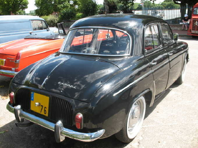 renault dauphine export 1964 1967 autos crois es. Black Bedroom Furniture Sets. Home Design Ideas