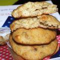 Biscuits moelleux à la banane et aux éclats de noisettes