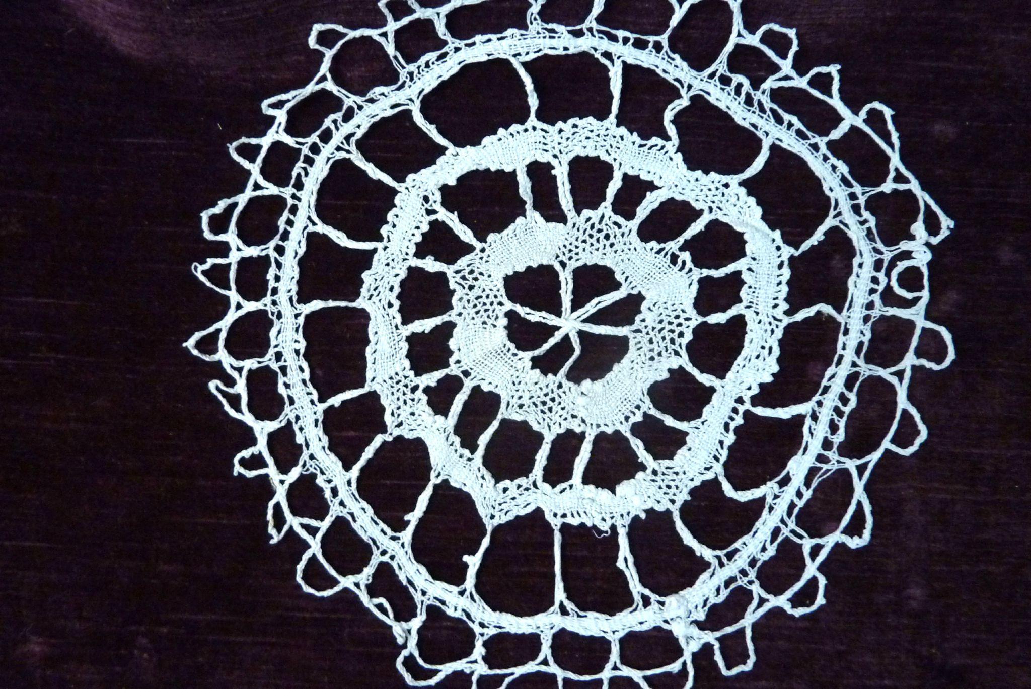 Grand Napperon Au Crochet concernant 851 - grand napperon dentelle aux fuseaux - l'univers textile des