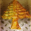 Le sapin en pâte feuilletée