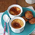 Petites crèmes caramel aux oeufs
