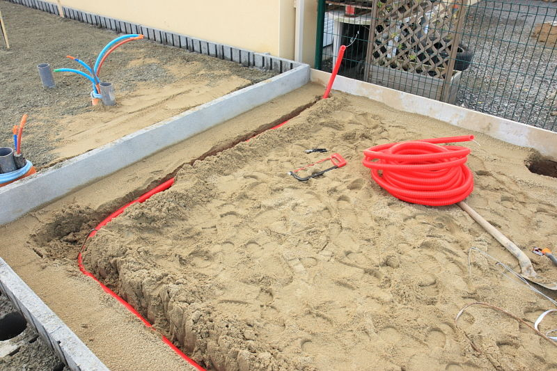 Fourreau electrique sous terrasse beton eclairage 16 messages - Gaine electrique exterieur ...
