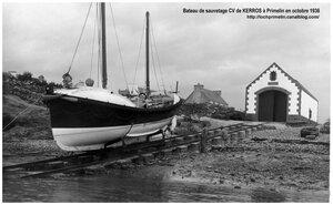 CH12 - Bateau de sauvetage CV de Kerros au Loch Primelin en 1936 b