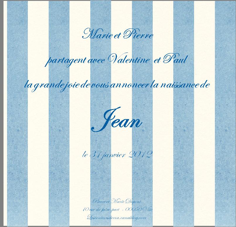 FP rayures verticales bleu blanc