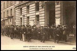 greve cheminots 1910