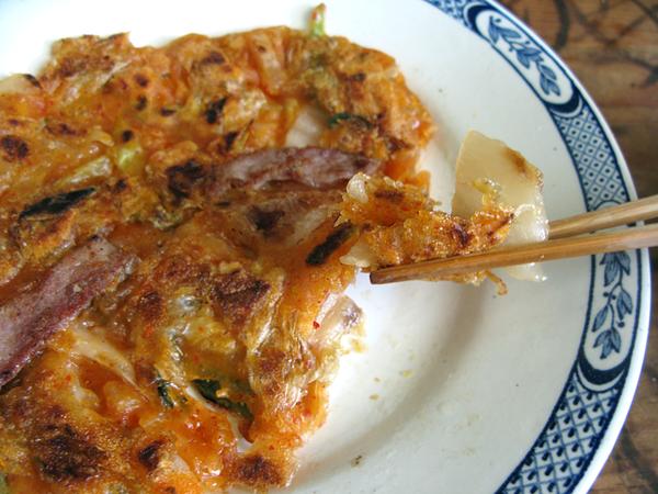crepe kimchi jeon