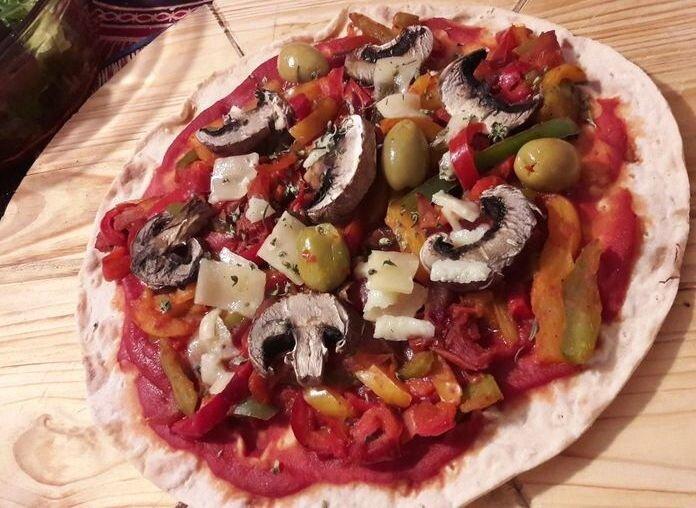 pizza wrap aux légumes (2)