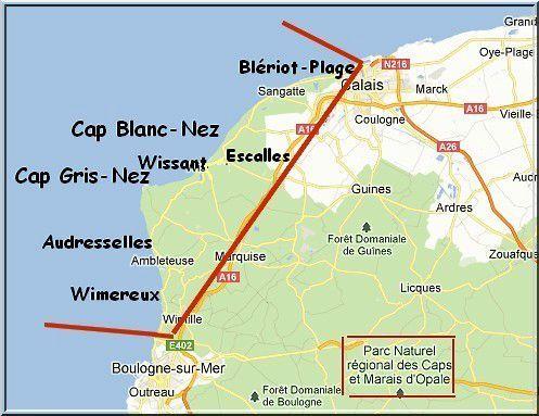 Top LE GRAND SITE DES DEUX CAPS DE LA CÔTE D'OPALE - PREMIERE PARTIE  DN89