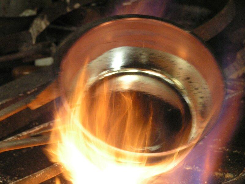 2015 05 22 - Mauviel (58) - étamage du cuivre