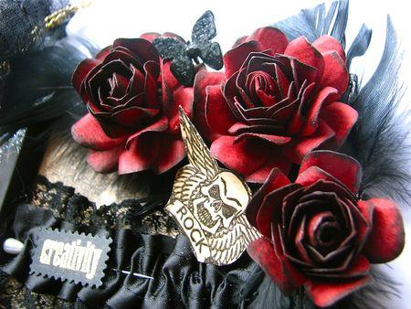 les roses en papier de dame brigt scrap sanctuary. Black Bedroom Furniture Sets. Home Design Ideas