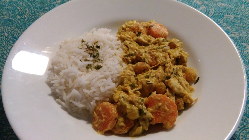 CURRY ET RIZ