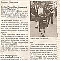 Annonce de melting kilts 2015 dans ouest france du 14 11 2015