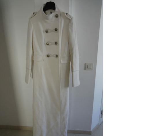 Manteau officier blanc