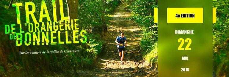 Bandeau Trail de l'Orangerie de Bonnelles 2016