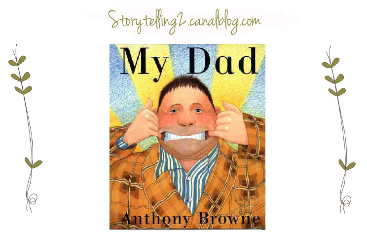 Bien connu My Dad, Anthony Browne, cycle 3 (Can + action verbs) - Brown Bear  KQ83