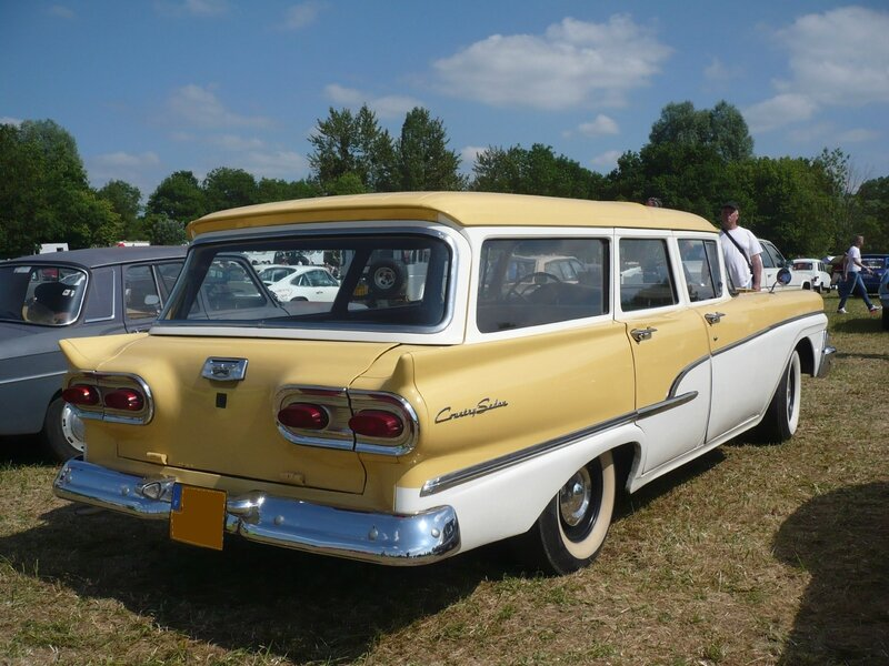 FORD Country Sedan 4door Station Wagon 1958 Madine (2)