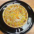 Tarte abricot -pistache