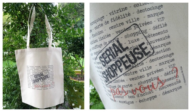 SERIAL SHOPPEUSE SAC COTON
