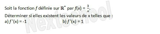 1ere derivation fonctions derivées 3 4