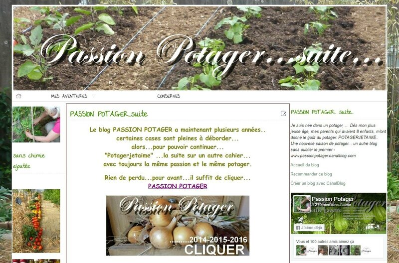 blog passion potager suite