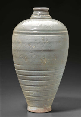 A Longquan-type meiping, China, Northern Song dynasty (AD 960-1127)