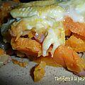 Tartiflette à la patate douce
