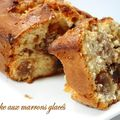 Cake aux marrons glacs