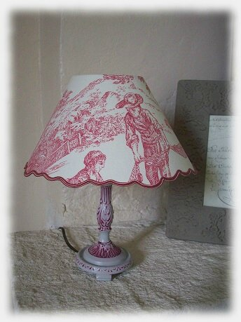lampe rose1