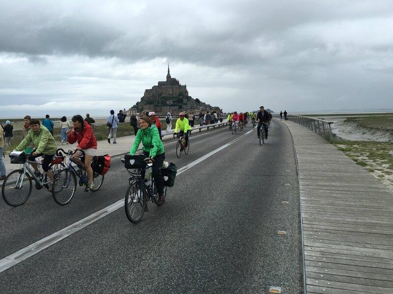 Convergence vélo en Baie Mont-Saint-Michel vélocité dimanche 12 juin 2016