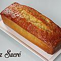 Recette : cake au citron by pierre hermé !