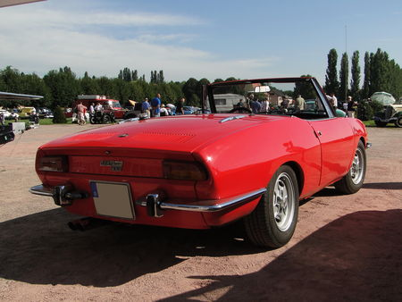 FIAT 850 Sport Spider 1968 1972 Rohan Locomotion de Saverne 2010 2