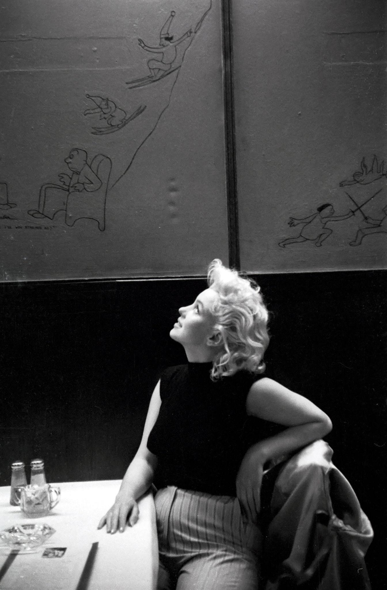 Mars 1955 Marilyn Dans N Y C Divine Marilyn Monroe