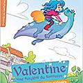 Valentine une sorcière du tonnerre, de stéphanie dunand-pallaz, chez belin jeunesse **