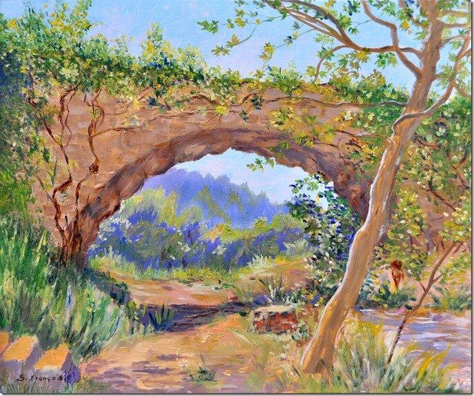 Aqueduc de Barjols 56x46