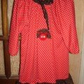 Robe coccinelle