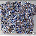Roselaine694 gilet pétale