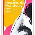 Nouvelles de Ptersbourg - Nicolas Gogol