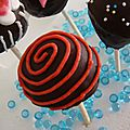Cake pops aux brownies