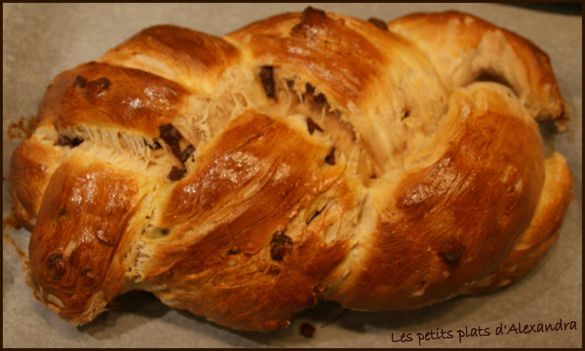 brioche aux p 233 pites de chocolat et lait ribot les petits plats d alexandra