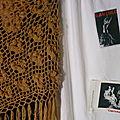 Châle, crochet 3.5, laine Katia