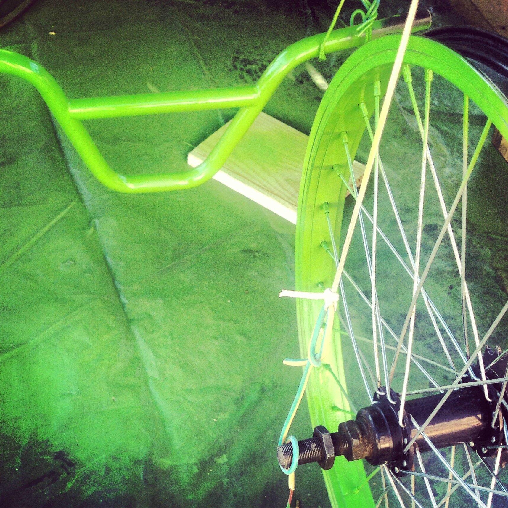 Celle qui aimait le vert