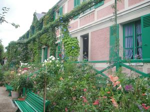 maison de Monet Giverny blog