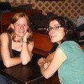 Marina et Claire, soirée foot!