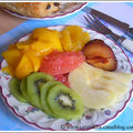 Assiette de vitamines c