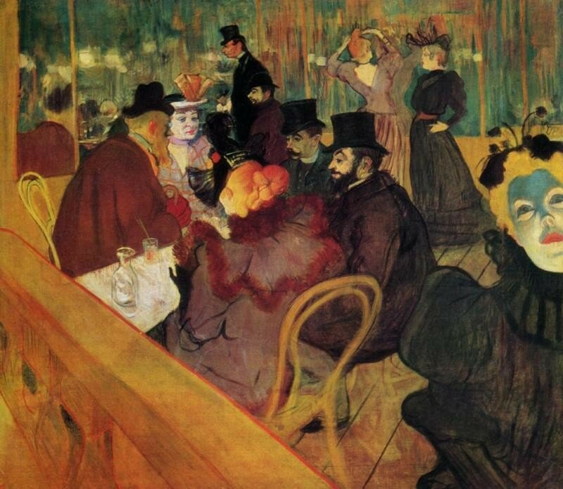 Toulouse Lautrec - Au Moulin Rouge