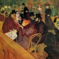 Toulouse Lautrec - Au Moulin Rouge